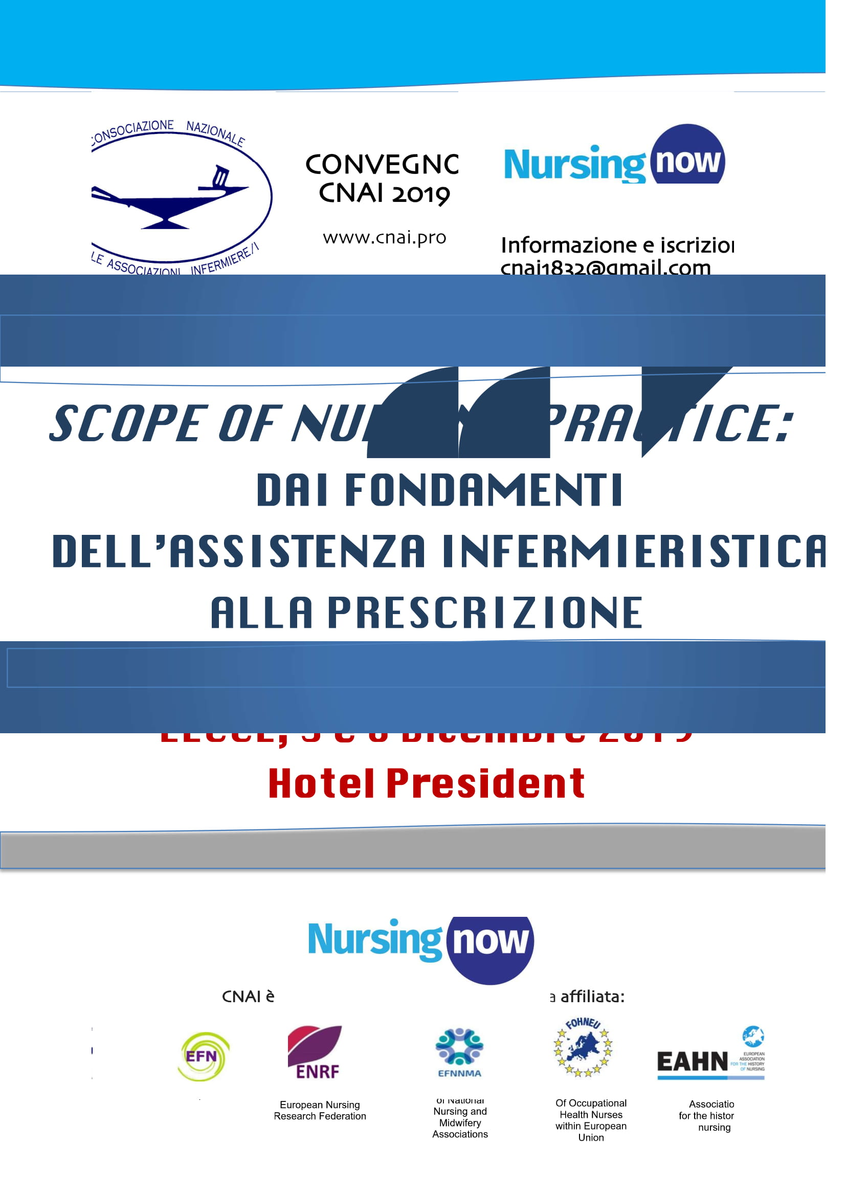 Scope of Nursing Practice: dai fondamenti dell'assistenza infermieristica alla prescrizione